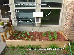 Homemade Automatic Christmas Tree Waterer by Video Walkthrough Automatic Garden Watering And Data Logging With
