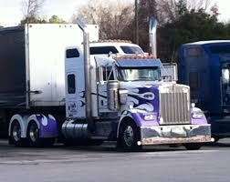 Kenworth W900L Custom Paint Job Sweet Truck Pilot Truck Stop ...