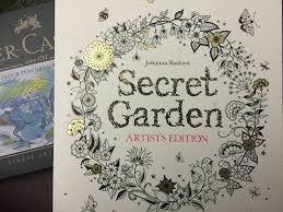Adult Coloring Book REVIEW Flipthrough Secret Garden Artist