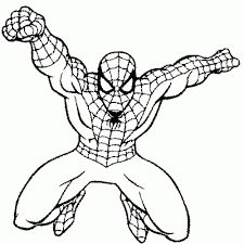 Print Free Coloring Pages Of Spiderman