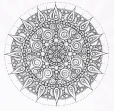 Fancy Mandala Free Coloring Pages 98 In Book With