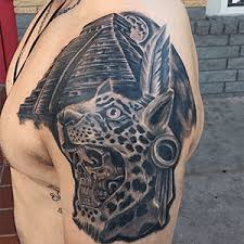 Mayan Jaguar Tattoo Photo Instagram