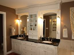 Bathroom Vanity Top Towers by Innovative Double Vanity With Center Tower And Top 25 Best Small