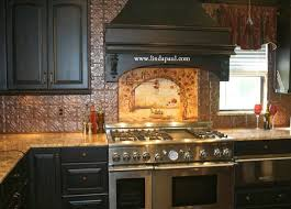 Tin Tiles For Backsplash by Diy Why Spend More Paintable Wallpaper For A Backsplash