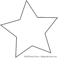 Printable Star Pattern For PDF Download Enlarge 150 Full Page