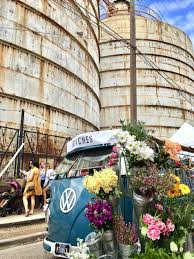 Flower Truck Mobile Shop Seen From The Front At Its Full Happy Memorial Day U A Beautiful