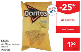 Makro Promotie Chips Doritos Natural