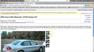 Craigslist Florence SC Used Cars For Sale By Owner - Cheap Prices ...