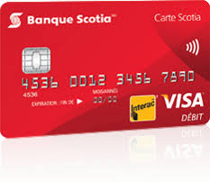 plafond debit carte visa carte scotia munie de visa débit banque scotia