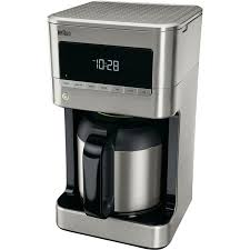 Braun Brew Sense 10 Cup Drip Coffee Maker With Thermal Carafe In Stainless Steel