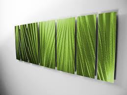 Image Of Tropical Outdoor Wall Decor Green