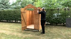 8x6 Wood Storage Shed by How To Build A Shed Onto A Wooden Shed Base Youtube