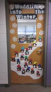 Students Waddling Into Winter Penguin Style With This Fantastic Christmas Classroom Door Idea Part Of The Top 10 Decorations In