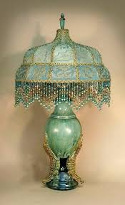 Vintage End Table With Lamp Attached by Best 25 Table Lamp Shades Ideas On Pinterest Victorian Table