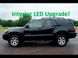 4th toyota 4runner led interior bulb replacement rear