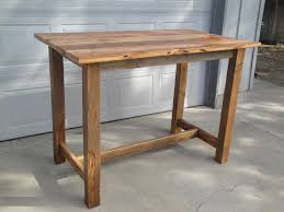 tall wooden table plans tags tall wooden table maple trestle