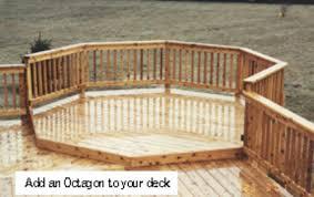 8 octagon deck building plans only at menards