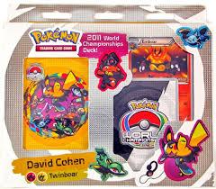Pokemon World Championship Decks 2015 by Pokemon 2011 World Championship Deck Twinboar Da Card World