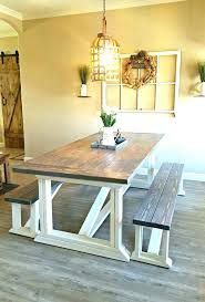 Farm Table And Chairs Style Dining The Farmhouse Kitchen Picture