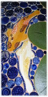 42 best koi handmade koi ceramic mosaic tiles images on