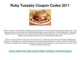 Online Ruby Tuesday Coupons For July | Printable Coupon ... 14 Ruby Tuesday Coupons Promo Coupon Codes Updates Southwest Airline Coupon Codes 2018 Distribution Jobs Uber Code Existing Users 2019 Good Buy Romantic Gift For Her Niagara Falls Souvenir C 1906 Ruby Red Flash Glass Shot Gagement Ring Holder Feast Your Eyes On This Weeks Brandnew Savvy Spending Tuesdays B1g1 Free Burger Tuesdaycom Coupons Brand Sale Food Network 15 Khaugideals Hyderabad Code Tuesday Morning Target Desk