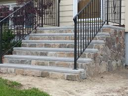 Outside Steps Design Fabulous Image Perfect Premade Porch