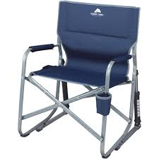 Camp Chair With Footrest by Camping Rocking Chair Folding Design Home U0026 Interior Design