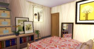 Interesting Design Of The Boho Rooms Decor That Has Cream Concrete Wall Can Be With