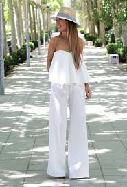 2017 White Jumpsuits For Women Street Style Trends 9