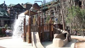 Disney s Wilderness Lodge Silver Creek Springs Pool Tour with