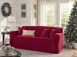 Sure Fit Sofa Slipcovers Amazon by Living Room Reclining Sofa Slipcover Winda Furniture Sure Fit T