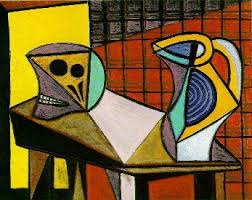 Still Life With Chair Caning Mood by Picasso U0027s Art Periods