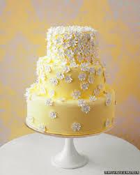 Yellow Daisy Cake By Martha Stewart