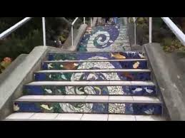 16th Avenue Tiled Steps Project by Golden Gate Heights Mosaic Stairway 16th Avenue Tiled Steps San