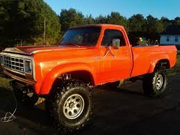 A Thing Of Beauty And A Joy Forever, An Old Square Body Dodge In ... Hemmings Find Of The Day 1978 Dodge Power Wagon Ut Daily 1969 78 Dodge Truck 4 Speed 318 360 Bellhousing Power Wagon Little Red Express For Sale Classiccarscom Cc1113003 1987 Ram Charger 4x4 Clean Blazer Bronco Ramcharger Suv Classics On Autotrader Truck 7893 D W Series Lower Radiator Splash Shield With Ss 7576 Grille Awesome 44 Custom 150 440 Ertl American Muscle Lil 1 18 Ebay Top Hand Edition Carlisle All Chrysler New 1972 73 74 75 76 77 79 80 Right Tail Bangshiftcom Tow