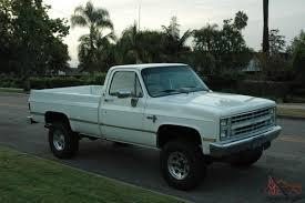 100 3 4 Ton Chevy Trucks For Sale 1987 Pickup Ton X