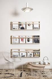 Wooden Magazine Organization