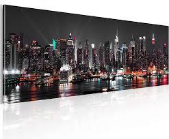 murando acrylglasbild new york 120x40 cm glasbilder