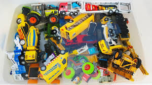 100 Kids Dump Trucks Learn Cars Names With Toys Cars For Excavator