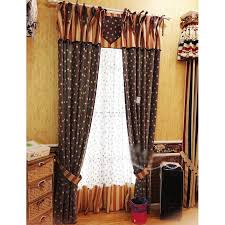 Navy And White Striped Curtains by Retro Navy Blue Red Striped Country Style Star Curtains