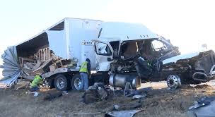 Two Truck Accident On I-39 Revealed A Horrific Aftermath