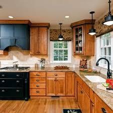 Houzz Kitchen Oak Cabinets