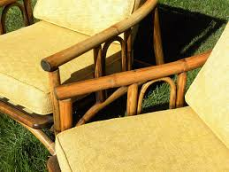 Ficks Reed Lounge Chair by Vintage Set Of Ficks Reed Lounge Chairs