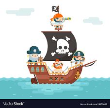 100 Design A Pirate Ship Ship Crew Buccaneer Filibuster Corsair Sea