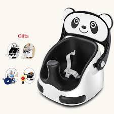 2020 neue produkt kunststoff tragbare booster sitz baby esszimmer stuhl toodle sitz kinder tisch baby roller mit selt gürtel