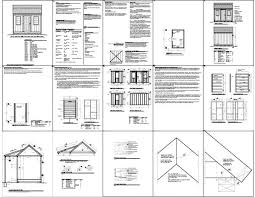 8x12 Storage Shed Blueprints by 166 Best Storage Sheds Images On Pinterest Storage Sheds