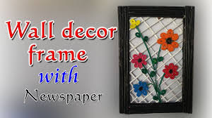 DIY Wall Decor Frame