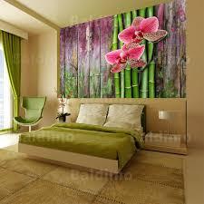 blumen holzoptik orchidee zen fototapete vlies tapete