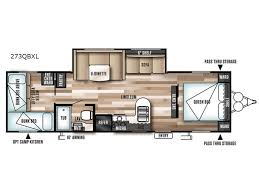 Wildwood Fifth Wheel Floor Plans Colors New 2017 Forest River Rv Wildwood 273qbxl Travel Trailer At Hitch