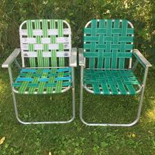 Lot: 2 Vintage Aluminum Frame Woven Webbed Folding Metal Lawn Chairs ... Chair Padded Sling Steel Patio Webbing Rejuvating Classic Webbed Lawn Chairs Hubpages New For My And Why I Dont Like Camping Chairs Costway 6pcs Folding Beach Camping The 10 Best You Can Buy In 2018 Gear Patrol Tips On Selecting Comfortable Lawn Chair Blogbeen Plastic To Repair Design Ideas Vibrating Web With Wooden Arms Kits Nylon Lweight Alinum Canada Rocker Reweb A Youtube Outdoor Expressions Ac4007 Do It Foldingweblawn Chairs Patio Fniture